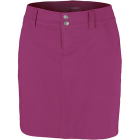 Columbia Saturday Trail Jupe-short Femme, wine berry